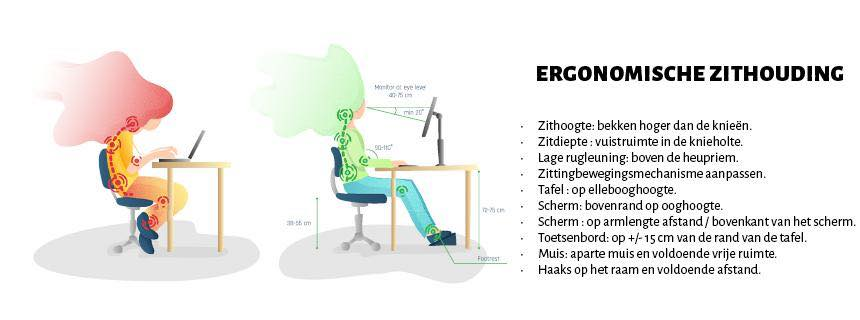 ergonomic workplace 2 NL